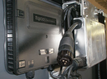 Photo 3. Microinverter AC output connector