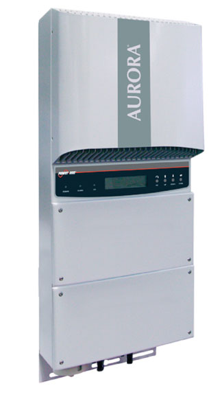 Photo 2. A 5 kW transformerless inverter by Power One
