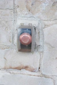 Photo 2. Emergency shut off button