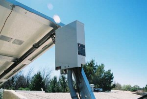 Photo 6. PV containers may operate above 40°C.