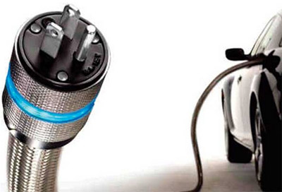 Photo 5. Vehicle charging connector