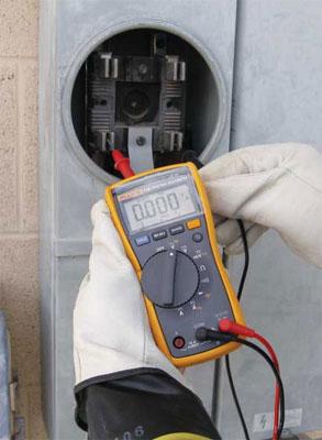 Photo 1. Performance meter