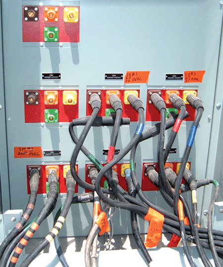 Photos 1 and 2. Feeders may come in various wiring methods, SE Cable or individual cables for just a couple of examples