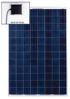 Photo 2. AC PV module. No exposed dc cables or connectors. Courtesy Exeltech.
