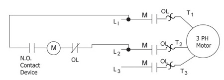 Figure 2. Full voltage two-wire control