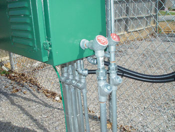 Photo 1. Electrical wiring in a hazardous (classified) location