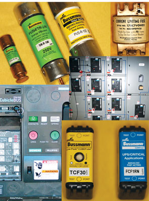 Photo 1. Overcurrent protection comes in many types, sizes and shapes