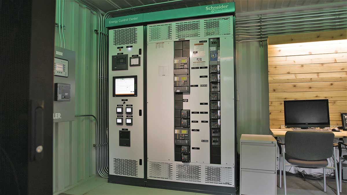 Photo 3. Power control system. Photo courtesy of Schneider Electric